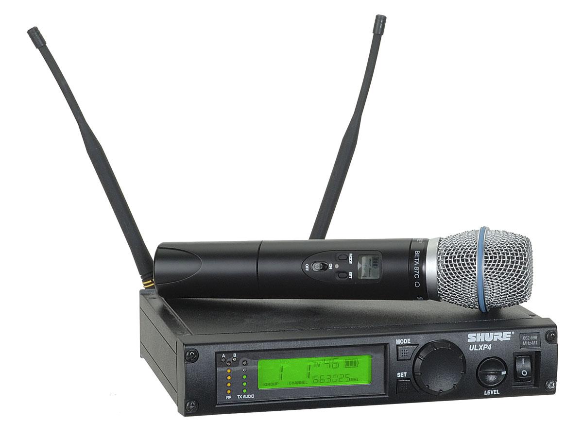 SHURE ULXP4 vezetéknélküli professzionalis mikrofon