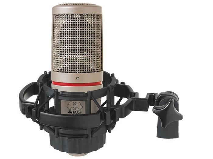 AKG C2000B kondenzátor mikrofon